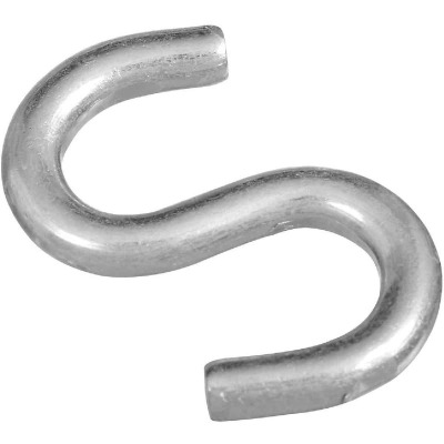 National 2 In. Zinc Heavy Open S Hook