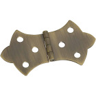 National 1-11/16 In. x 3-1/16 In. Antique Brass Hinge (2-Pack) Image 1