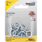 National #12 Zinc Large Screw Eye (10 Ct.) Image 2