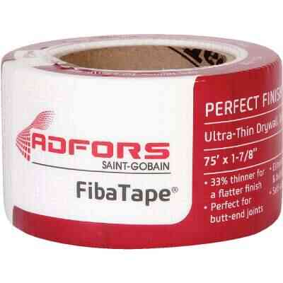 FibaTape Perfect Finish 1-7/8 In. X 75 Ft. Ultra Thin Joint Drywall Tape