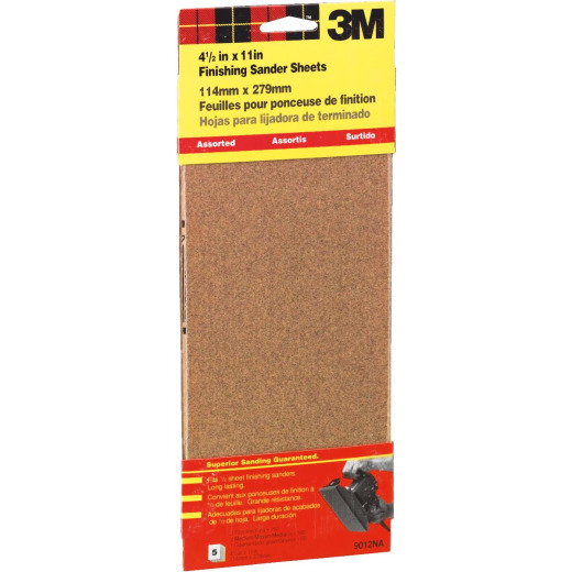 Power Sanding Sheets