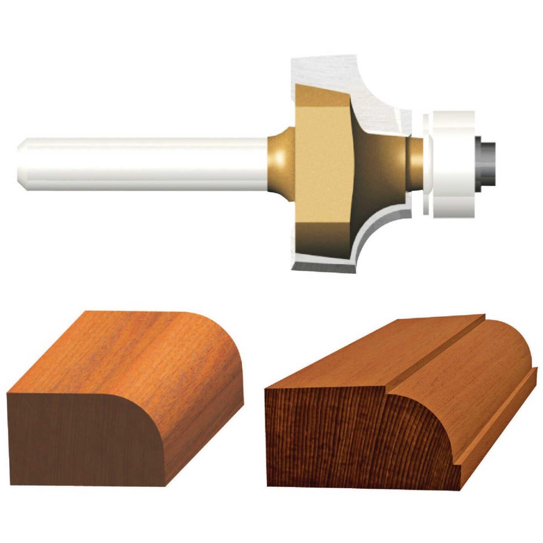 Vermont American Carbide Tip 1/8 In. Roundover Bit Image 1