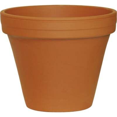 Ceramo 6-3/4 In. H. x 7-3/4 In. Dia. Terracotta Clay Standard Flower Pot